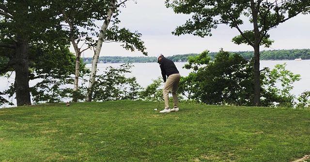 📍Great Chebeague GC . . . . .#golf #maine #pushcartmafia #golfswing #golfcoach #golfswing #golflife