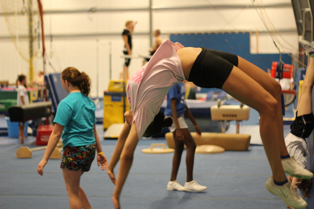 Cheerleading Tumbling