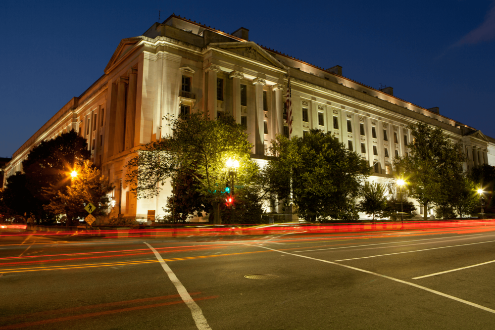 U.S. Department of Justice Building - Washington, D.C.