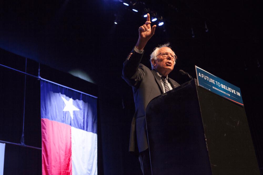 Bernie Sanders Rally - Grand Prairie, Texas