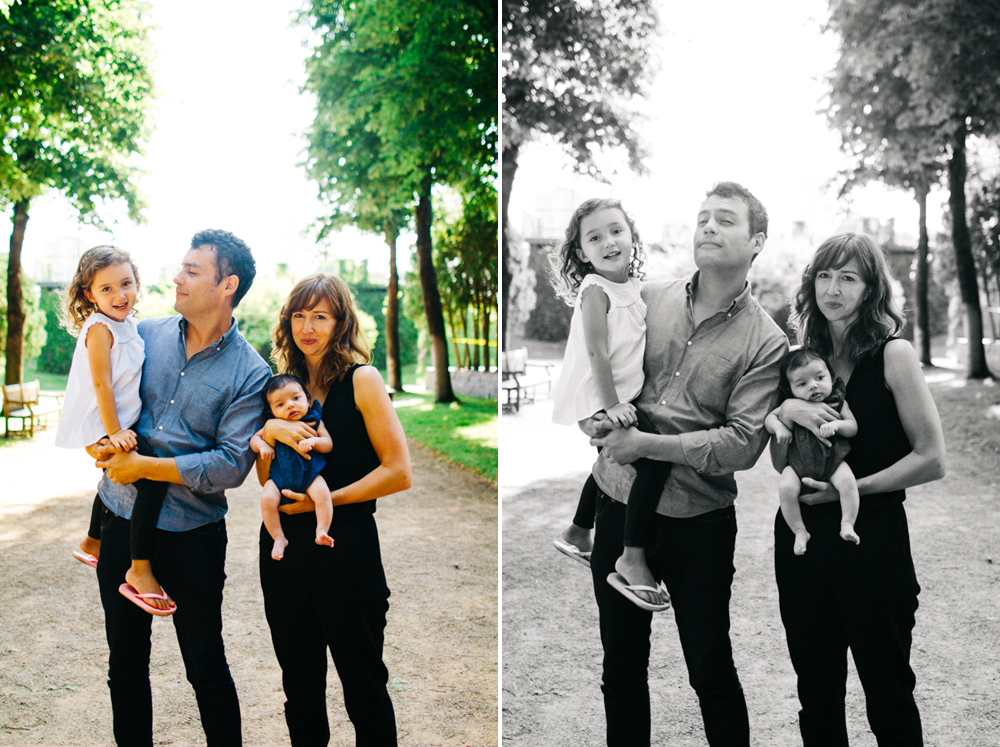 Family photography at the Minneapolis Sculpture Garden