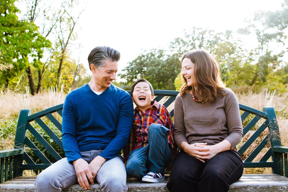 Family Photography at Minnehaha Falls