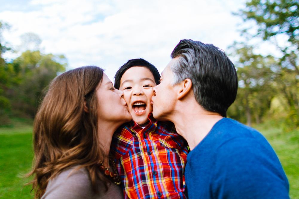 Family Portrait Session at Minnehaha Falls