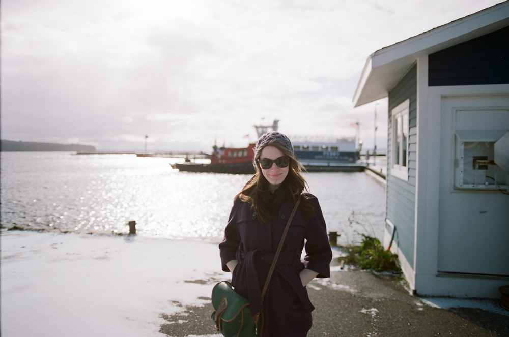 Megan McCarty on Madeline Island