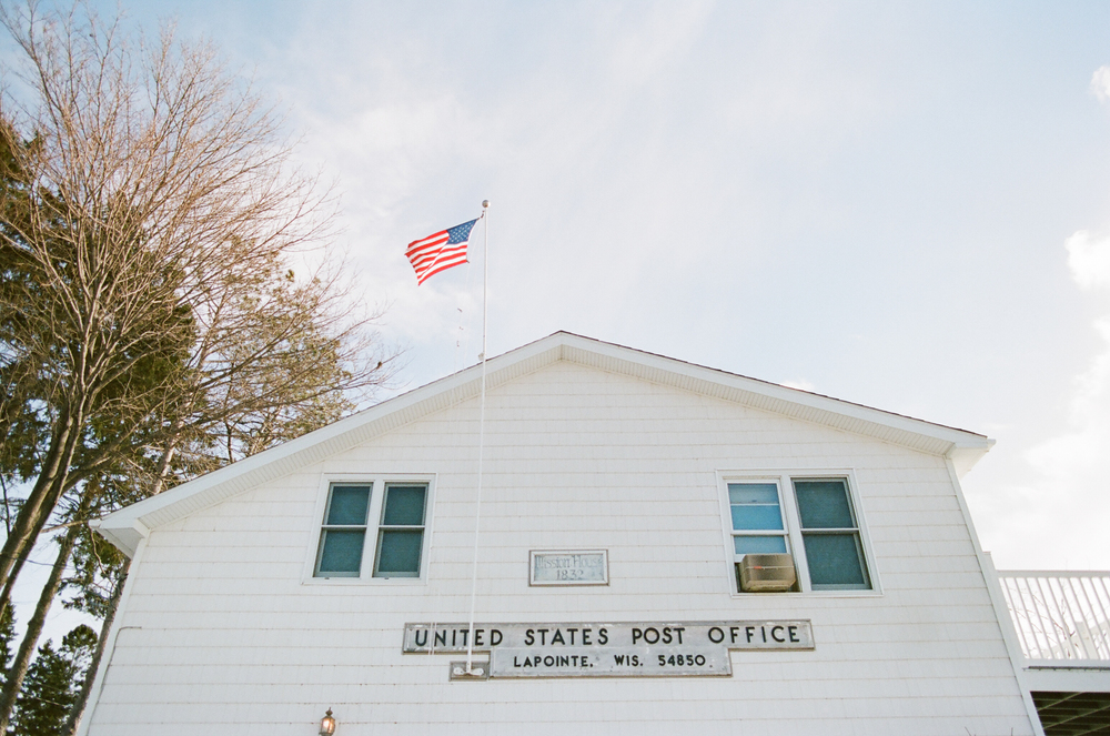 Madeline Island Post Office in La Porte, Wisconsin