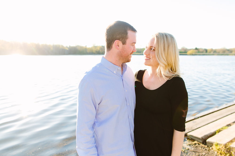 Minneapolis Maternity Photos at Theo Wirth Park