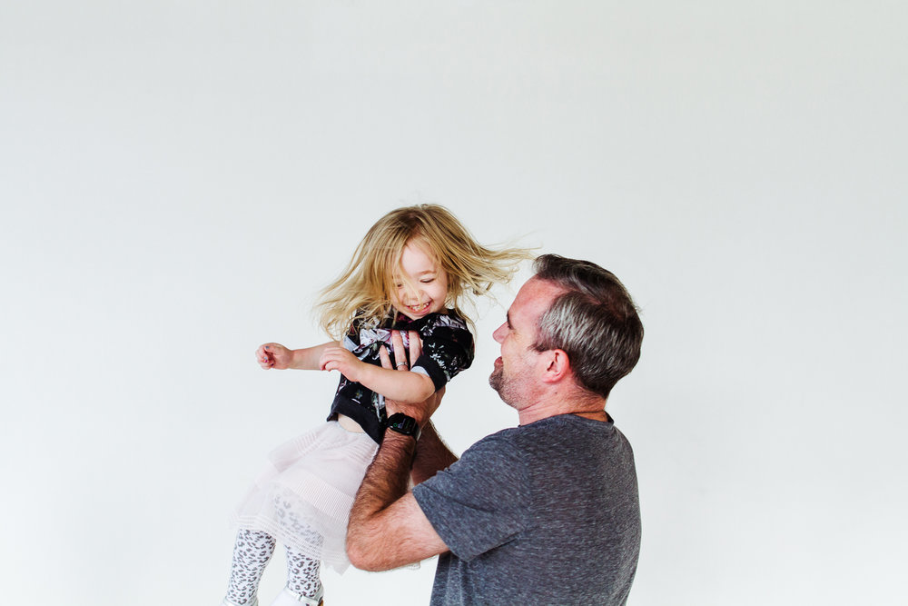 Father and daughter photos in Minneapolis