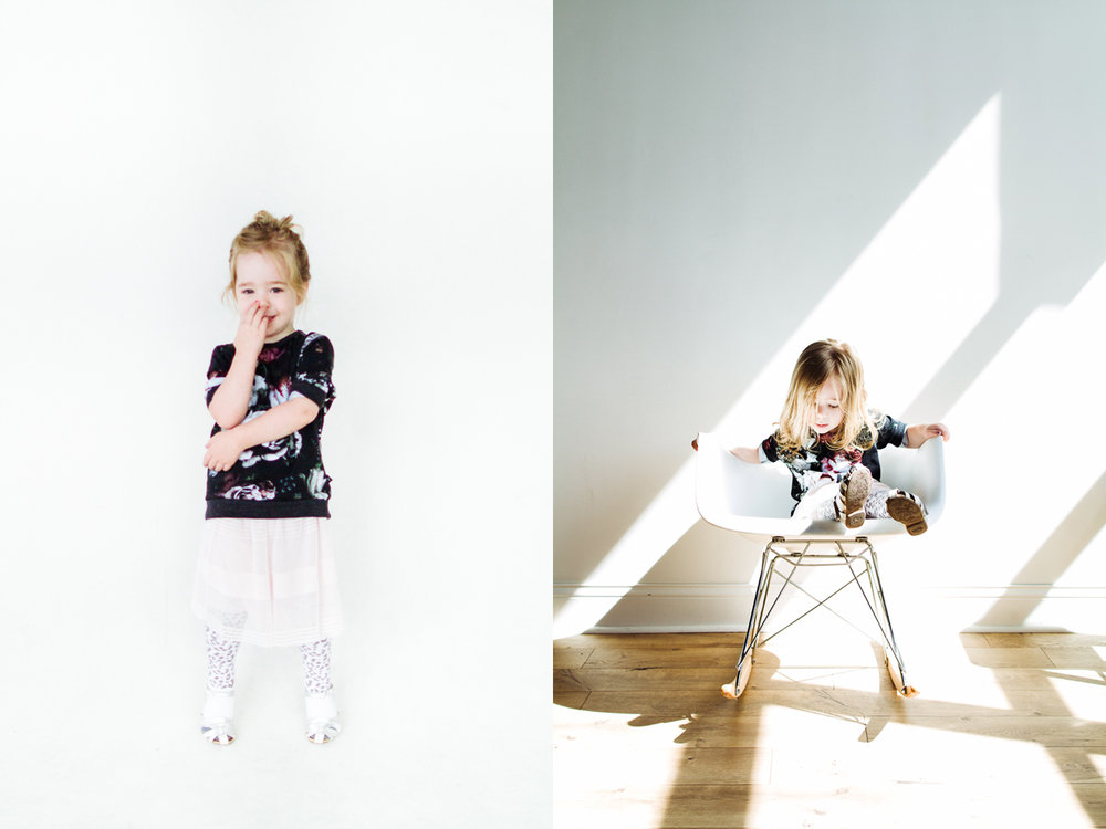 Modern family portrait studio in the Twin Cities