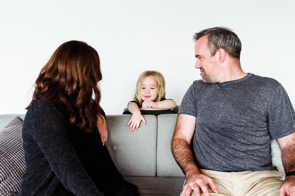 Minneapolis Modern Family Portrait Studio