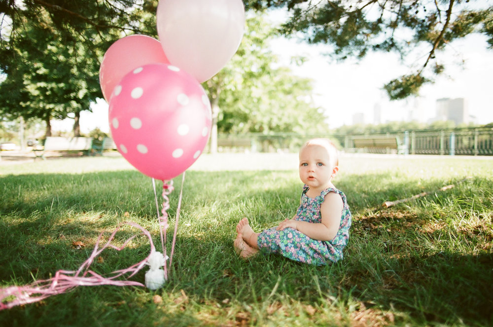 First Birthday Portrait Session