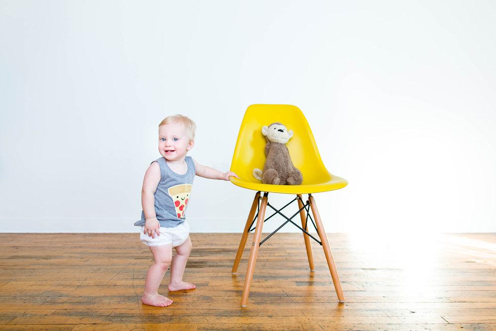 Minneapolis Modern Children's Photo Studio