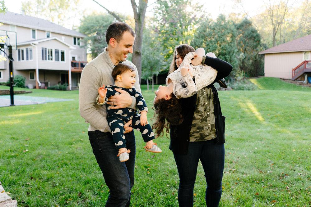 Minneapolis Modern Family Photographer