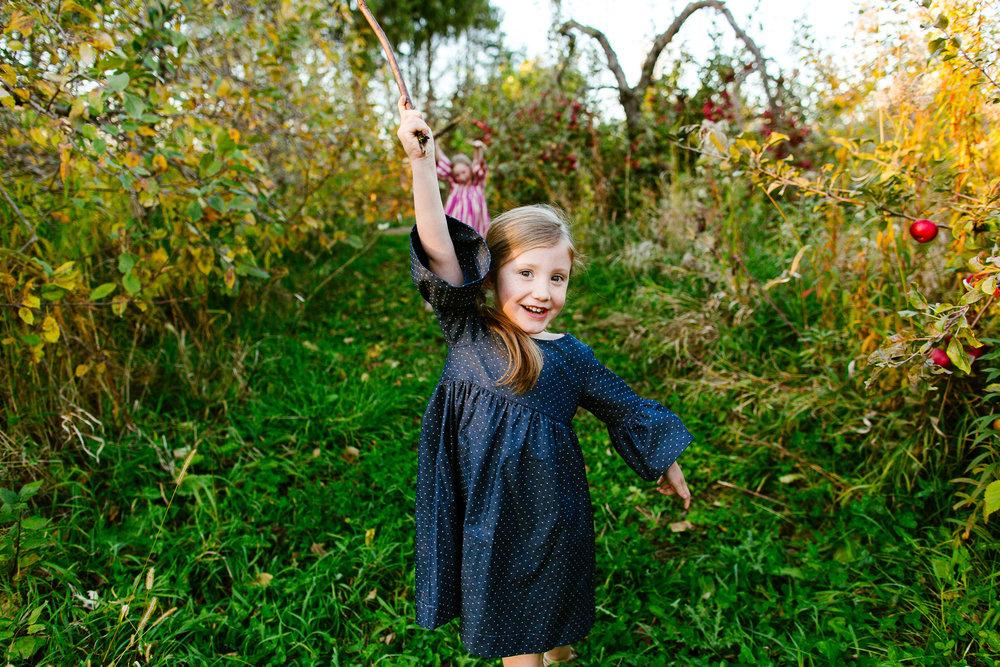 Family Photography at Sweetland Orchard Minnesota