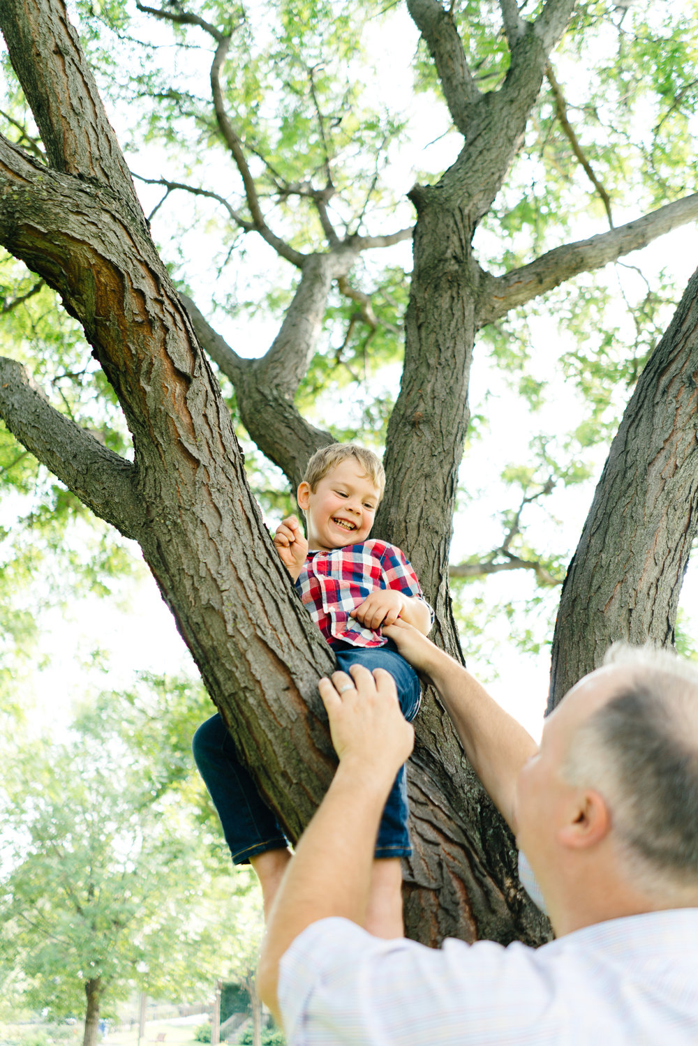 Family Portrait Photography at Loring Park in Minneapolis, Minnesota