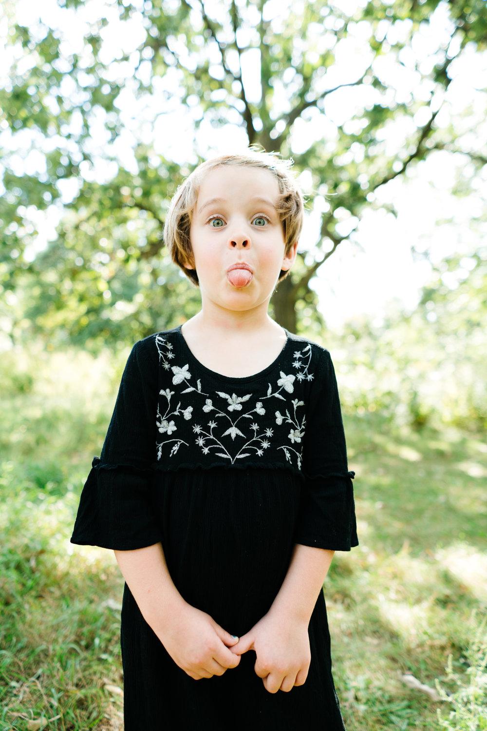 Saint Paul Children's Photographer, Hello Buffalo