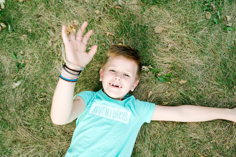 Twin Cities Modern Children's Portrait Photographer, Hello Buffalo