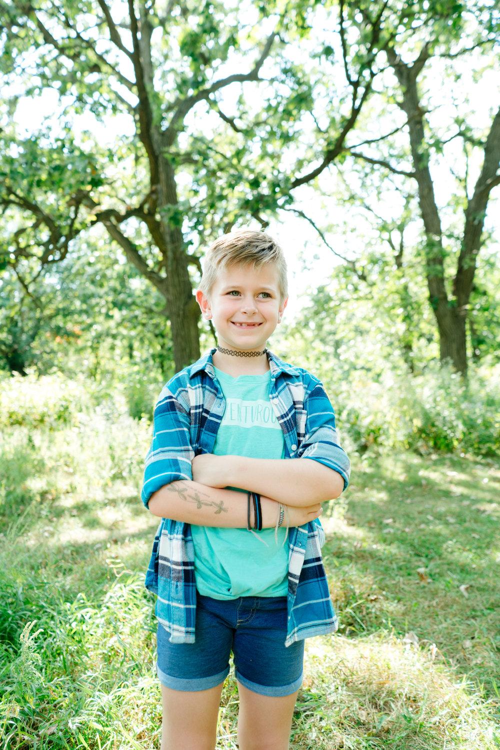 Minneapolis Lifestyle Children's Portrait Photographer, Hello Buffalo