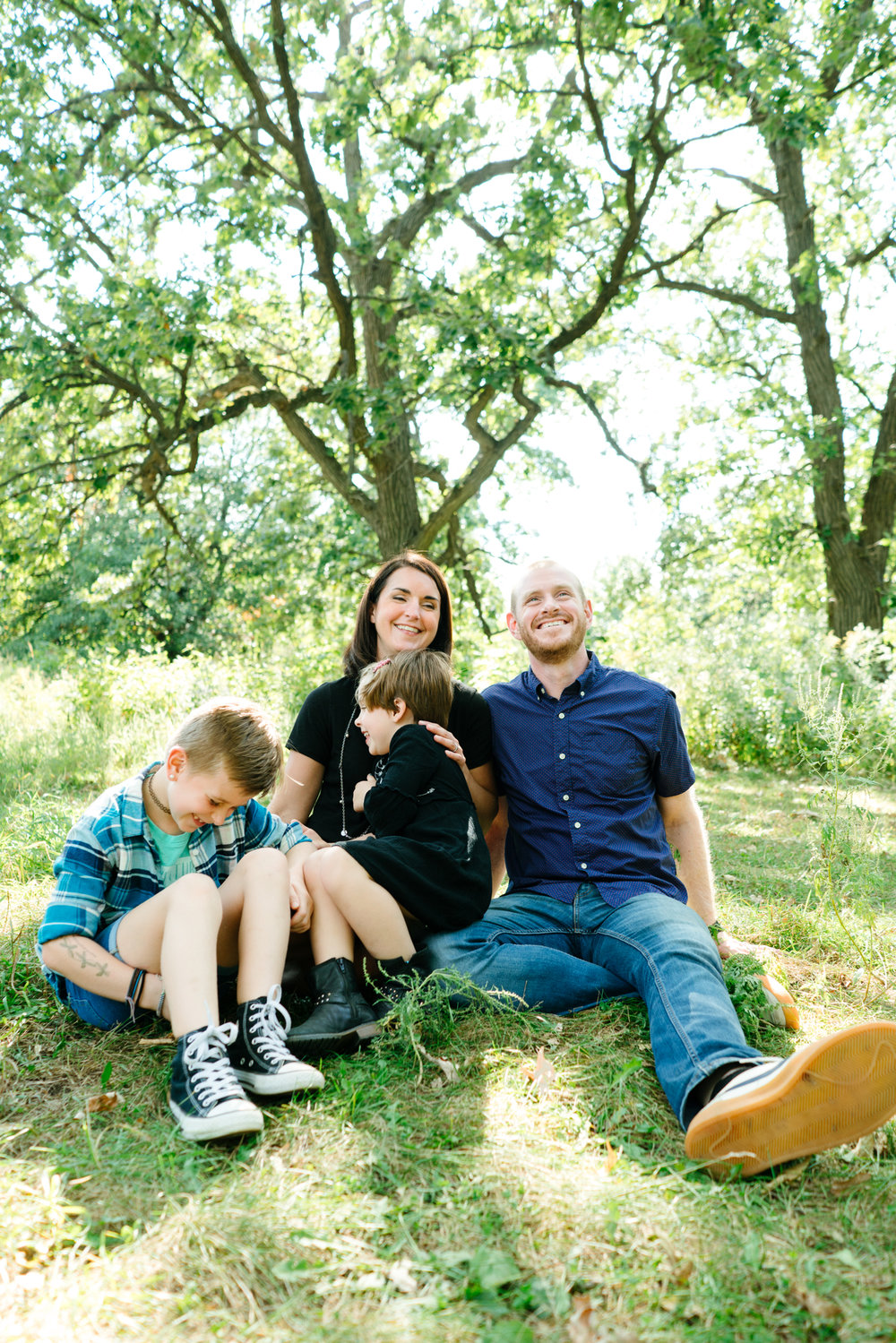 Minneapolis Fall Family Portrait Photographer