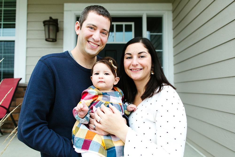 Lifestyle Family Portrait Photographer in Saint Paul, Minnesota