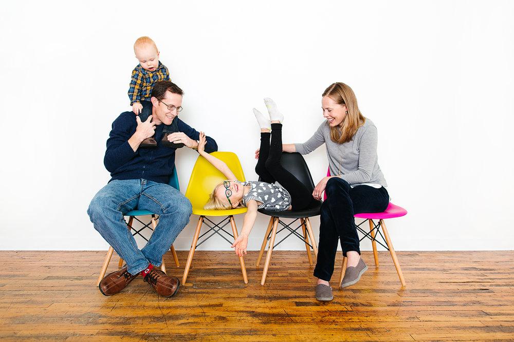 Modern Family Portrait Studio in Minneapolis, Minnesota