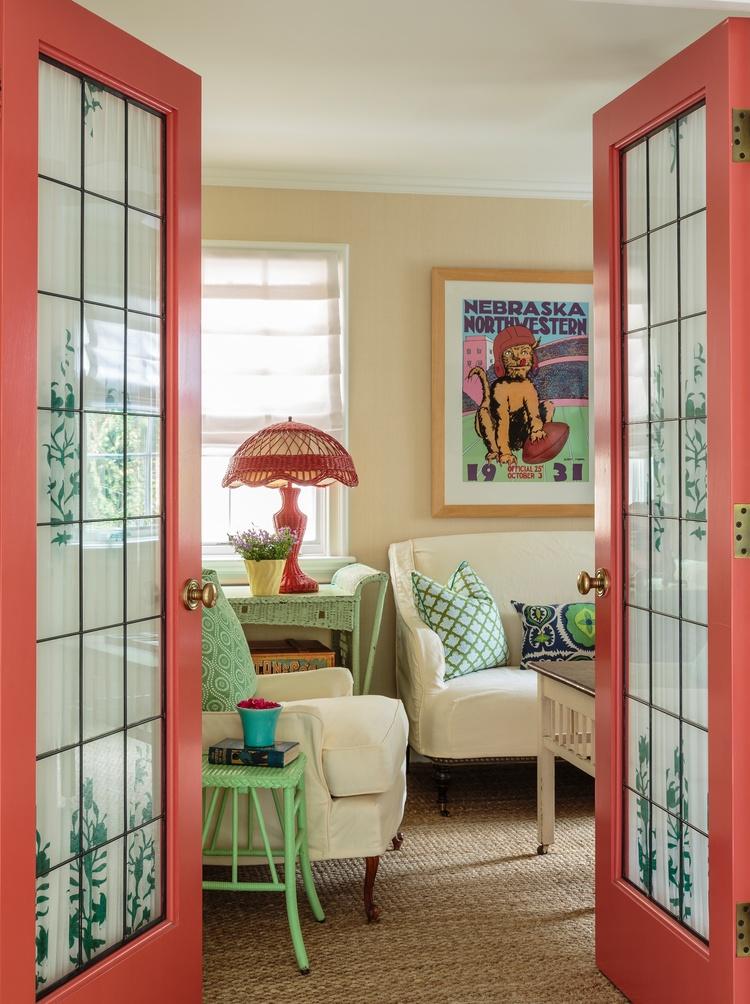 Eclectic Home Office Alison Intended Mark Lohman Santa Monica Cottage u2014 Alison Kandler Interior Design