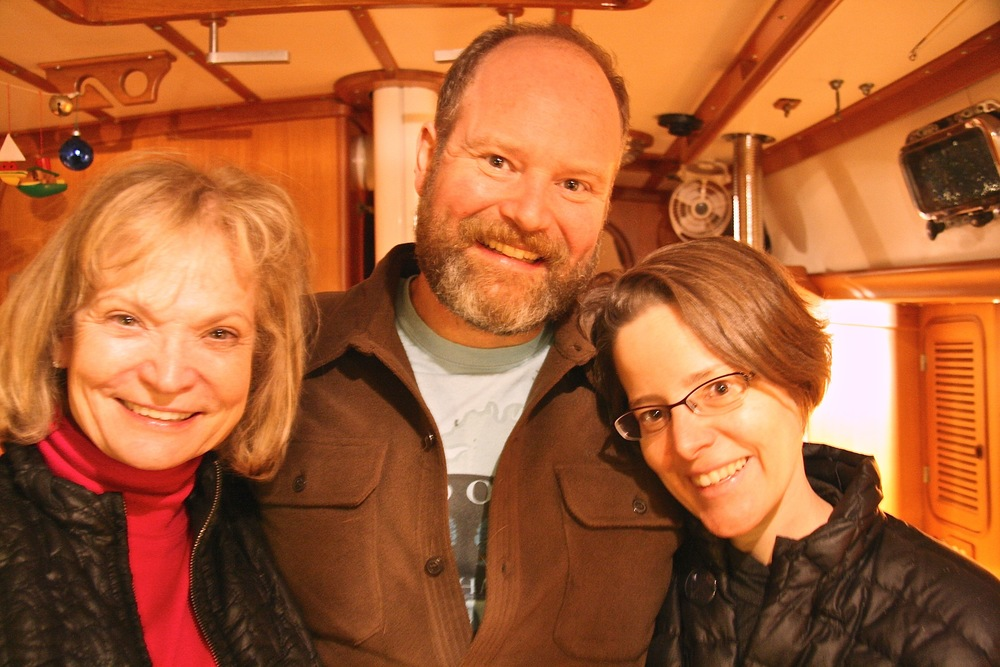 Barb, Erik and Faye