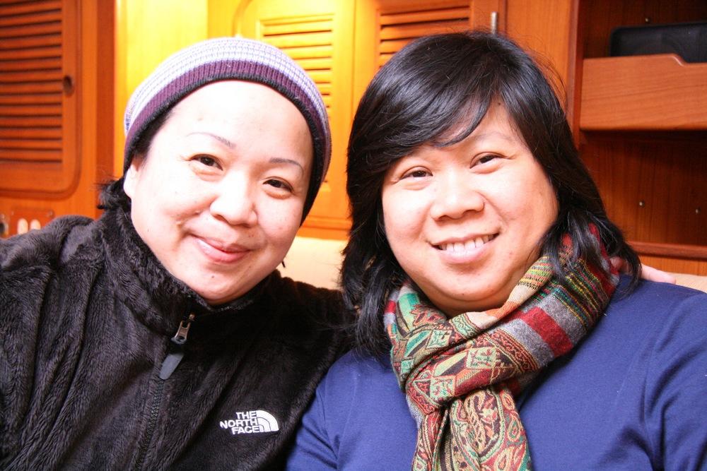 Victoria and Anne