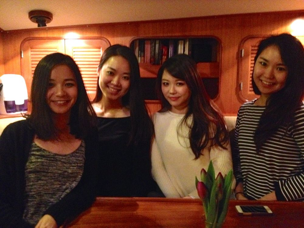 Saraporu, Mai, Yumyum and Nanae