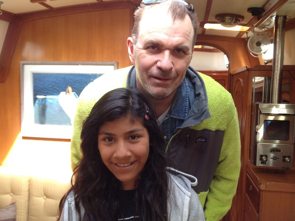 Papa Garry and daughter Alondra