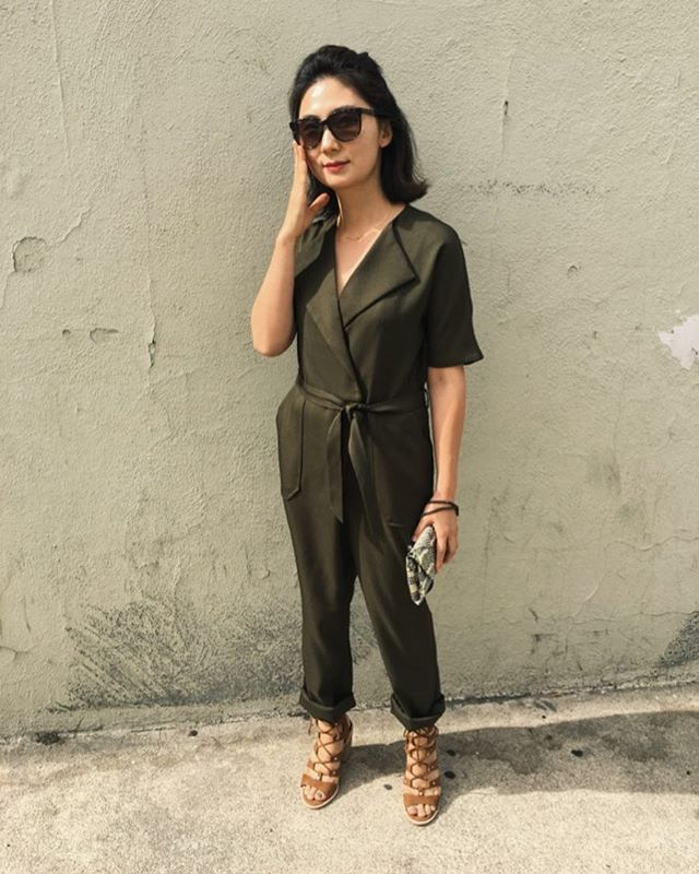 🍃 Jumpsuit by Jovanna 🕶