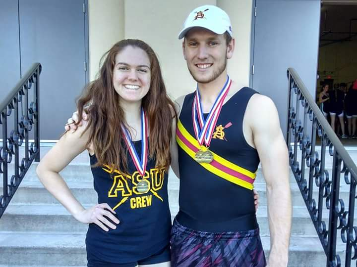 Sophie Wierman & Nick Pederson; 1st in the state of AZ