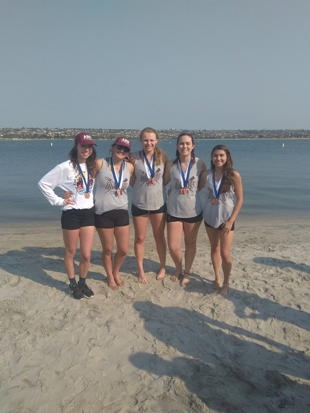 Women's Novice 4+ - 1st place - San Diego Fall Classic