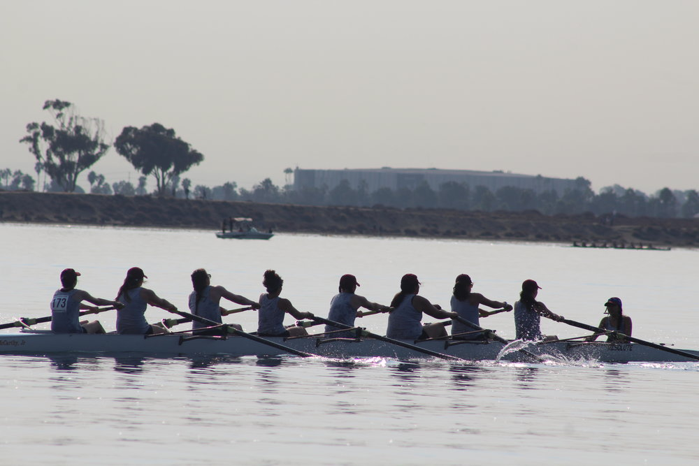 Women's Novice 8+ - 3rd place - San Diego Fall Classic