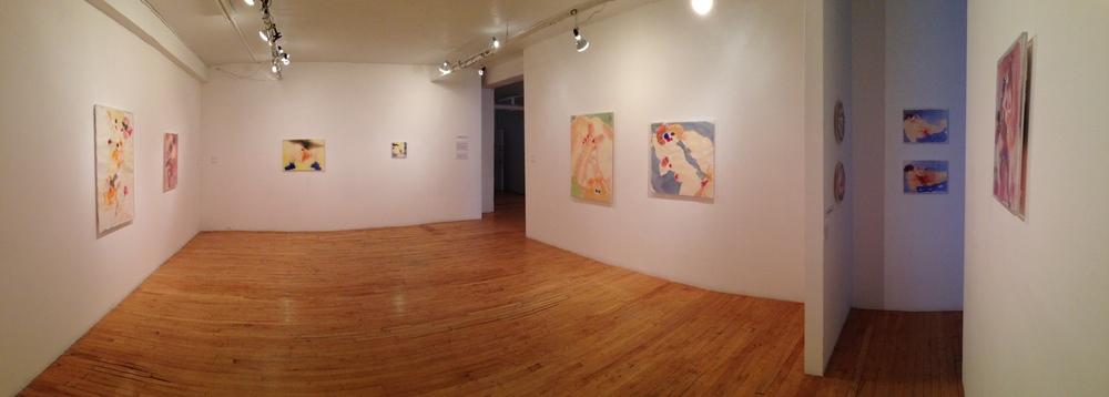 Installation view of Miel salé, Galerie Joyce Yahouda Gallery, 2013.