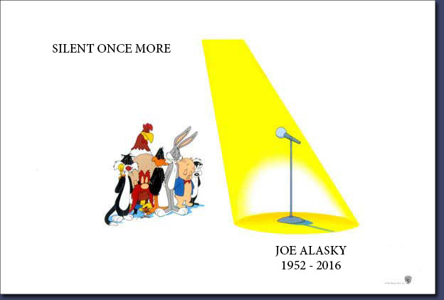 My tribute to Joe Alasky.