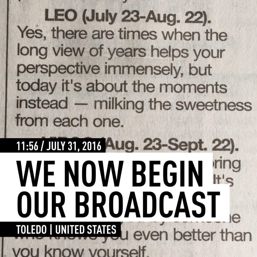 31 JUL 2016