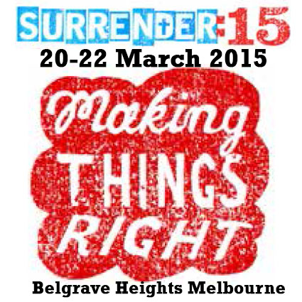 SURRENDER:15 - Making Things Right