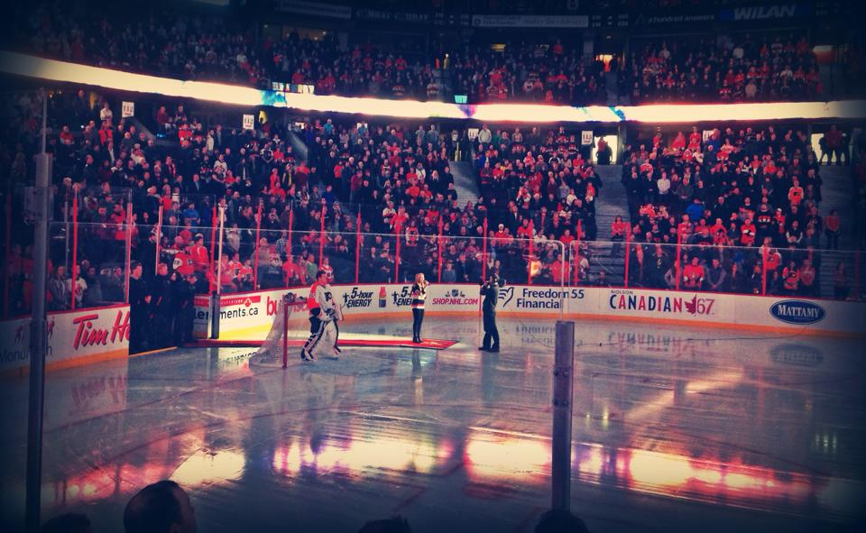 NHL Anthems - Sens vs. Flyers