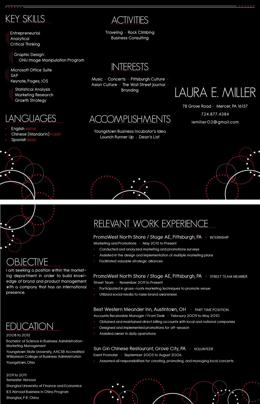 Resume Brochure