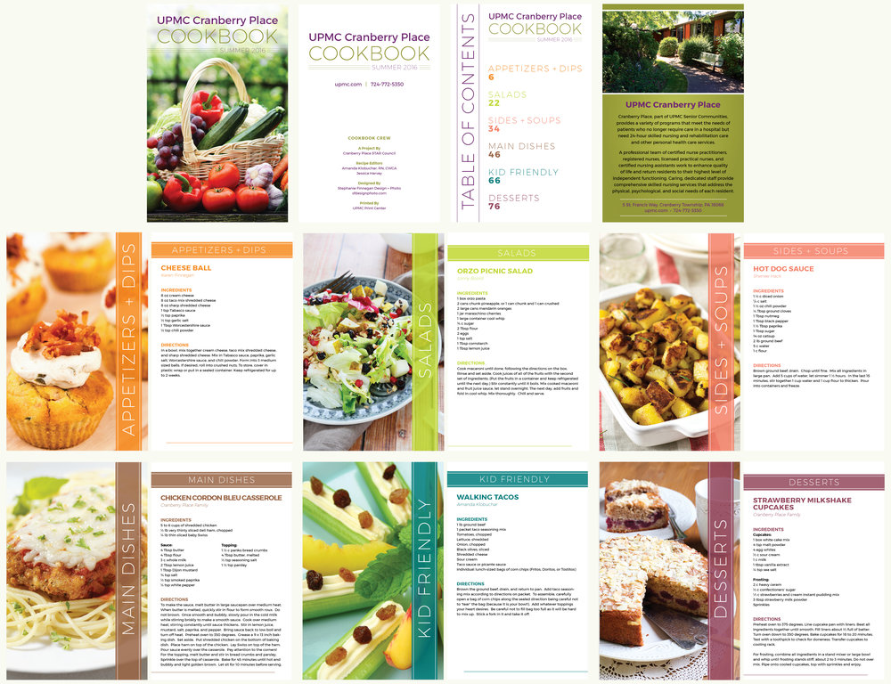 Cookbook Publication