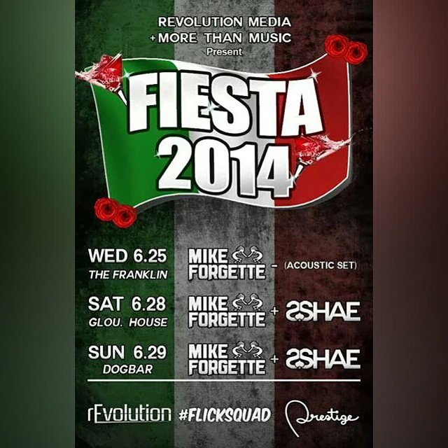#fiesta#fsm #flicksquad #revolution #prestige #morethanmusic @janderton26 @ryan_fsm @clane23 @prestigelife @4jetti @2shaeofficial check out the crews lineup