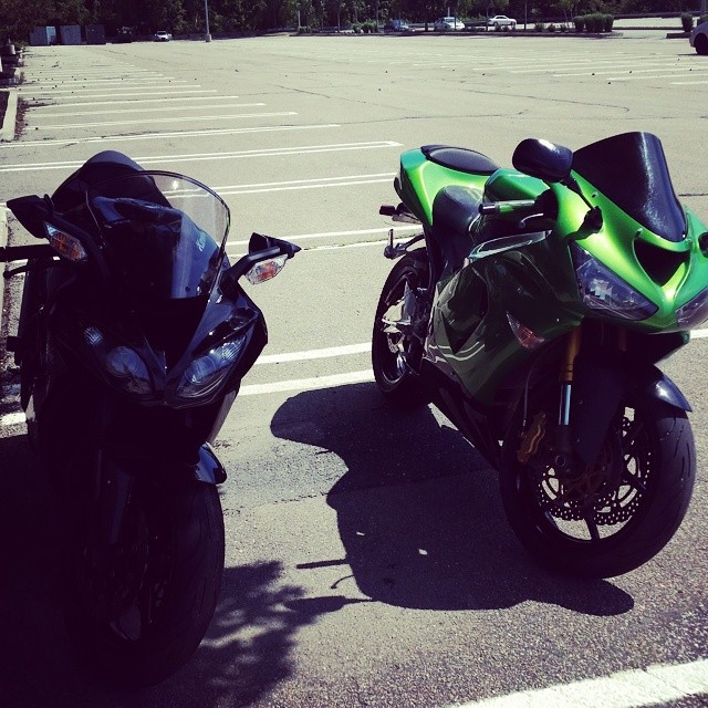 #bikelife with the homie @nuttabuttag #zx6r #zx10r #kawilife #636