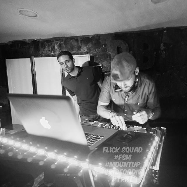 #nofilter #dj #2shae on the decks killing it. #nightlife #photo #squad