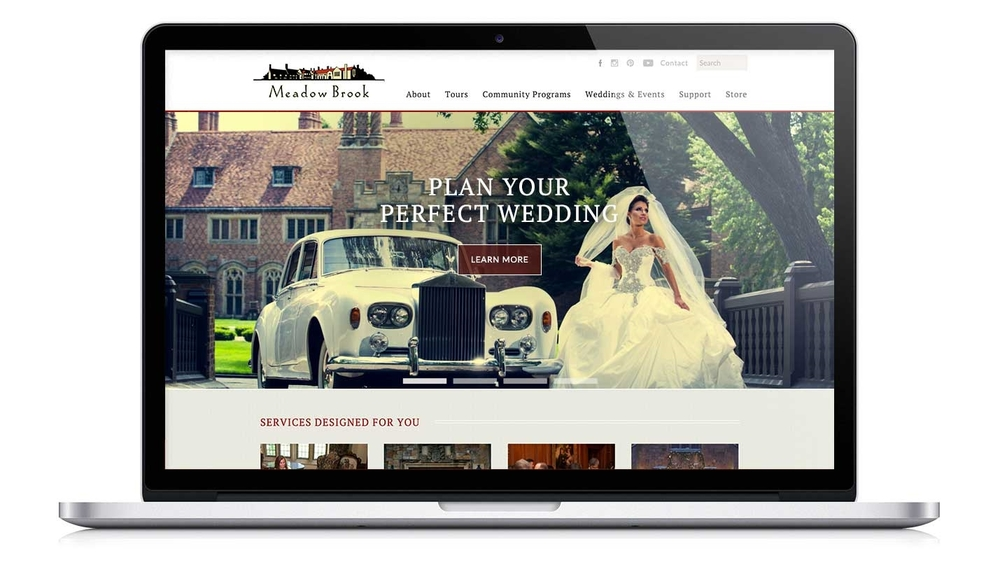 Meadow Brook Hall Website Redesign