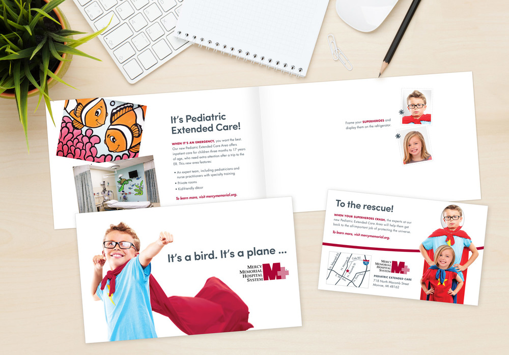 Mercy Medical Hospital System Pediatric Direct Mail