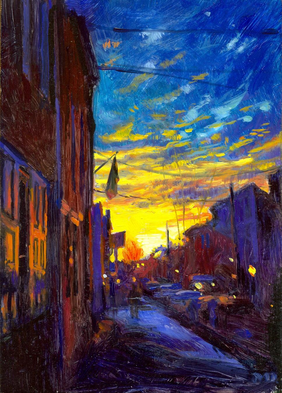 Dickinson Street Sunrise