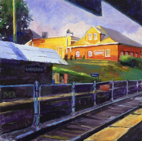 Lansdowne Train Stop