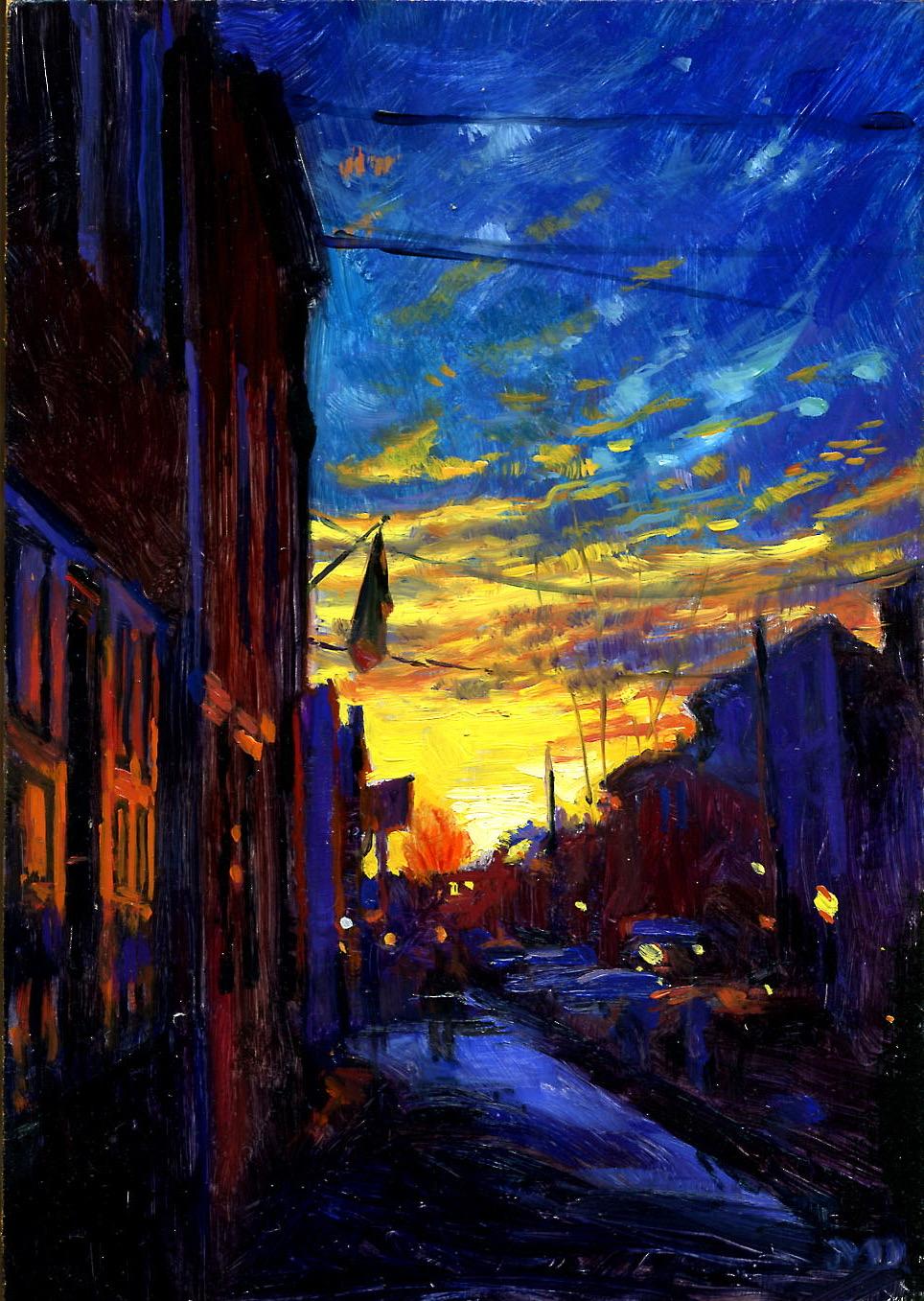 Dickinson Street Sunrise (sold)