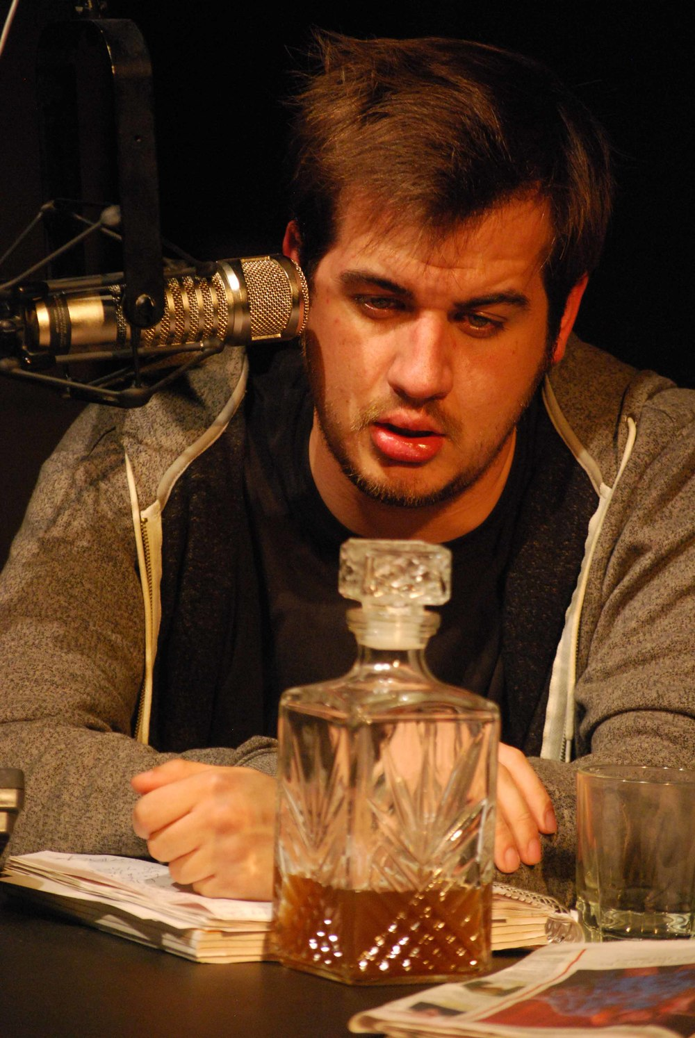 Talk Radio - Spartan Theatre Co.