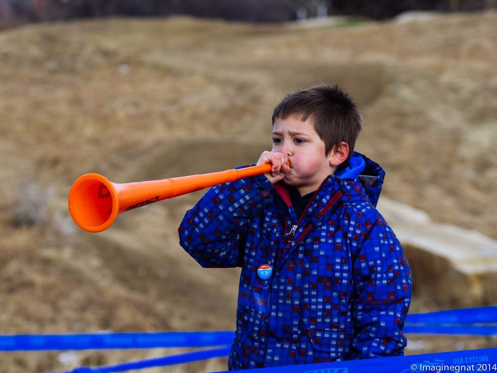 A young spectator at CX Nationals in Boulder, CO - Shot with the Olympus EM1 and Olympus 75mm f1.8